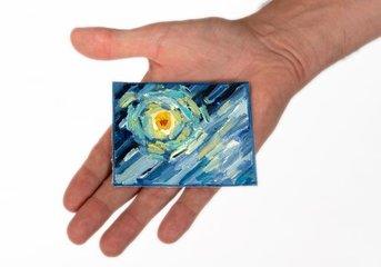 Van Gogh mini schilderijen