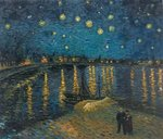 Starry Night over the Rhone Van Gogh replica