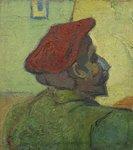 Paul Gauguin (Man in a Red Beret) Van Gogh reproduction