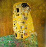The Kiss Klimt reproduction