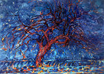 The Red Tree Mondrian reproduction