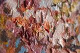 Pink Peach Tree in Bloom Van Gogh Reproduction detail