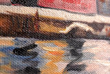 Lake Garda Gustav Klimt reproduction detail