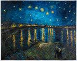 Starry Night over the Rhone Van Gogh replica