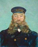 Portrait of the Postman Joseph Roulin Detroit