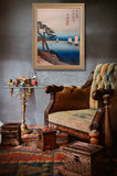 Sailboats Hiroshige framed