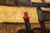 detail Interior of a Restaurant in Arles Van Gogh Replica