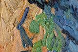 detail Tree Roots Van Gogh reproduction