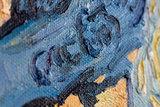 Tree Roots Van Gogh reproduction detail