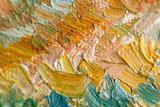 detail Mountain Landscape behind the Saint-Paul Hospital Van Gogh reproduction
