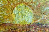 The Sower Van Gogh replica