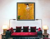 Portrait of Adele Bloch Bauer Klimt reproduction framed