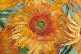 detail Vase With Twelve Sunflowers Van Gogh replica