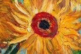 Sunflowers Van Gogh reproduction