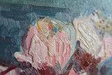 detail Blossoming Almond Branch Van Gogh replica