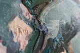 Blossoming Almond Branch Van Gogh replica detail
