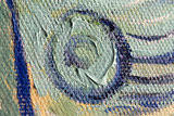 Self Portrait Vincent Van Gogh reproduction detail
