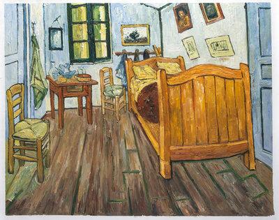 De Slaapkamer Van Gogh reproductie, 1888