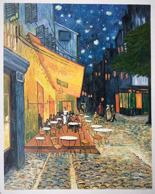 Caféterras bij Nacht Van Gogh reproductie, 1888