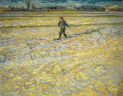De Zaaier Villa Flora Van Gogh reproductie, 1888
