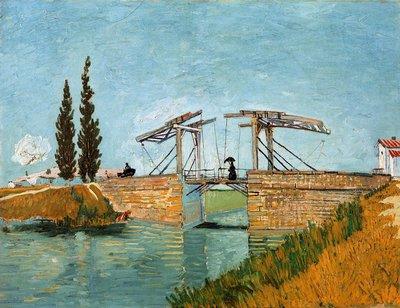 De Brug van Langlois Wallraf-Richartz Van Gogh reproductie, 1888