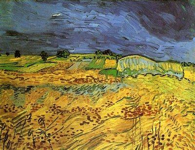De Velden Van Gogh Reproductie, 1890