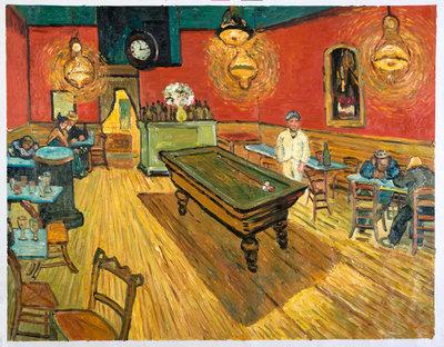 Het Nachtcafé Van gogh reproductie, 1888