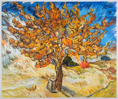 De Moerbei Van Gogh reproductie, 1889