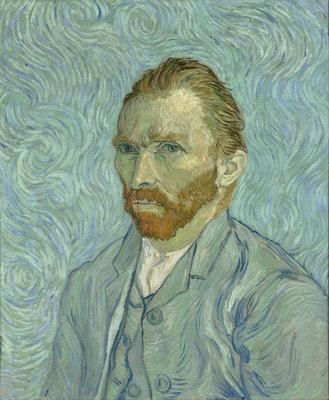 Zelfportret Vincent van Gogh reproductie, 1889