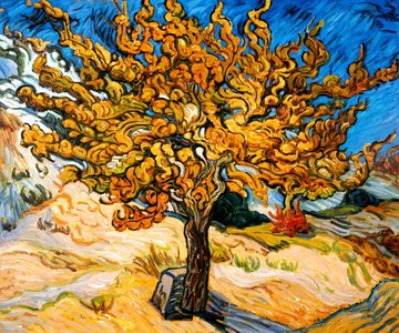 Van Gogh reproduction The Mulberry Tree