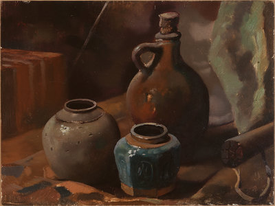 Still Life with Ginger Jar, original by Jo Vergeer