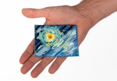 One star from Starry Night